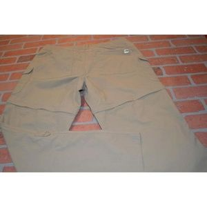 6069 Womens The North Face Convertible Pants Size